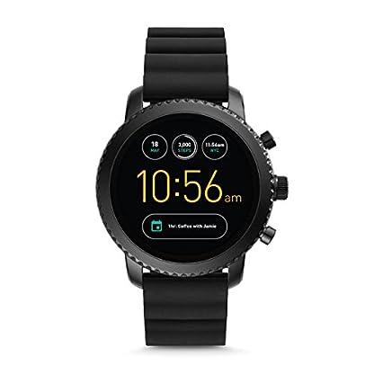 Herren-Smartwatch-Q-Explorist-3-Generation-Silikon-Schwarz-FTW4005