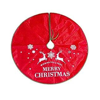 LIOOBO-1-STCK-120-cm-Weihnachtsdruck-Baum-Rock-Baum-Basis-Dekoration-Schrze-Wrap-Weihnachtsschmuck