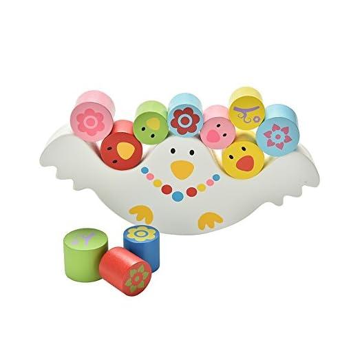 Natureich-Mwe–Stapel-Spielzeug-aus-Holz-Montessori-Turm-zum-Stapeln-Balancieren-von-Blcken-in-Bunt-ab-3-Jahre-fr-die-frhe-Geschicklichkeit-Entwicklung-Ihres-Kindes