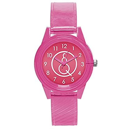 Godagoda-Unisex-Armbanduhr-Einfach-Stil-Modern-Bunt-Deko-Edelstahl-Silikon-Band-Paaruhr-Quarzuhr-fr-Herren-Damen