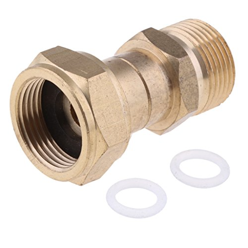 Baoblaze-Hochdruckreiniger-Schnellanschluss-M22Mm-X-12-Zoll-Schnellstecker-Adapter-aus-Messing