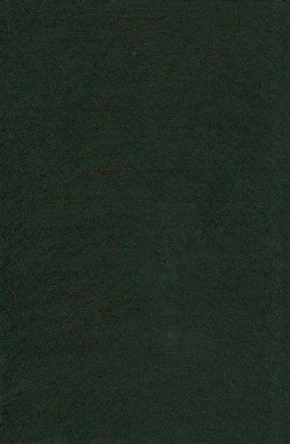1 Bogen Bastel-Filz 20 x 30 cm – Stärke: 2mm – Farbe nach Wahl (Schwarz)