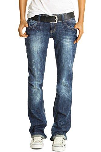 Bestyledberlin Damen Jeans Hosen, Baggyjeans j137p