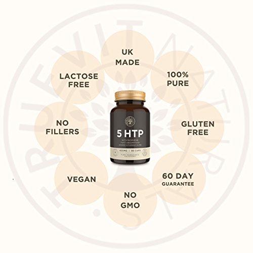 Hoch dosiertes 5HTP Serotonin Nahrungsergänzungsmittel, schnell wirkende 30 Kapseln