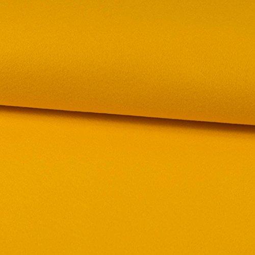 Deko- Bastelfilz 1mm gelb -Preis gilt für 0,5 Meter-