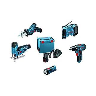 Bosch-Professional-0615990GF2-Akku-Bohrschrauber-5-Tool-Kit-3-Akkus-108-V-20-Ah-Li-ion-L-Boxx