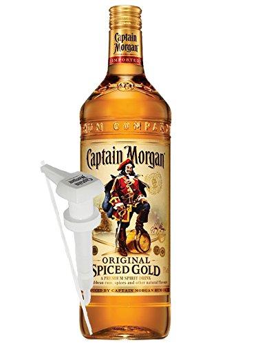 Captain-Morgan-Spiced-Gold-Jamaika-30-Liter-Dosierpumpe-fr-30-Liter