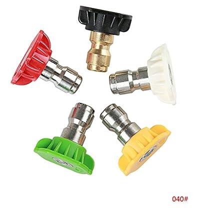 UHAoo-5pcs-14-Quick-Connect-Design-Hochdruckreiniger-Schnee-Foam-Lance-Sprhdse-Tipps-5-Farben