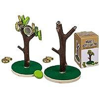 Magnetischer-Kronkorkenbaum-Baum-ca15-cm-mit-Holz-Standfu-Trinkspiel-fr-Biertrinker-Mnnergeschenk-Geburtstagsgeschenk