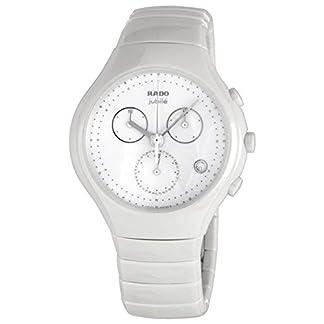 Rado-True-Jubile-Damen-Armbanduhr-44mm-Armband-Keramik-Wei-Batterie-R27832702