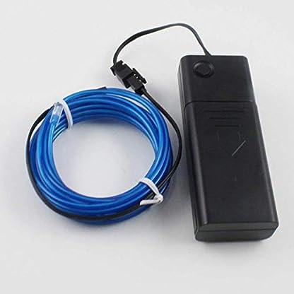 Lerway-Blau-5-M-EL-Draht-Neon-Leuchtet-Tron-Electroluminescent-Beleuchtung-Licht-Mit-Batterie-Box-Weihnachten-Nacht-PartyRave-Haus-Garten
