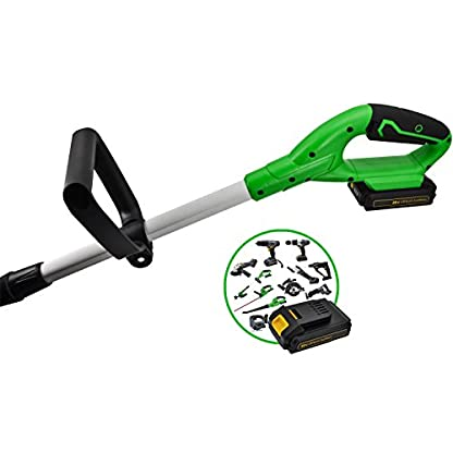 Poweland-Akku-RasentrimmerG001-LI-Akku-Schnellladegert-Messer-Karton-20-Volt-System-20-Ah-