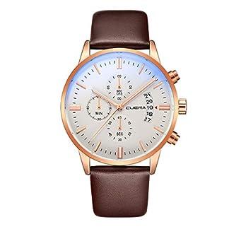 Armbanduhr-herren-Liusdh-Uhren-Low-Key-Luxus-mattes-Zifferblatt-mit-Leaderband-Gold-Zifferblatt-Datum-blau-Uhrengehuse-Business-uhr