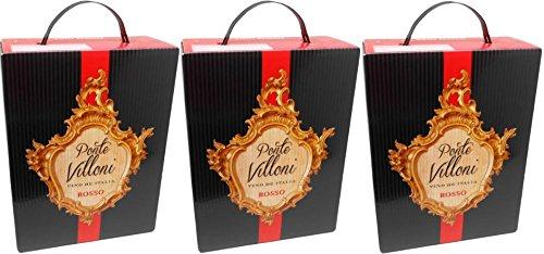 3-x-PONTE-VILLONI-ROSSO-ITALIEN-Bag-in-Box-3-Liter-11