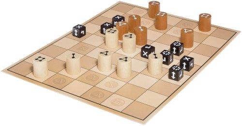 WiWa-Spiele-790016-BARRAGOON-Gewinner-MinD-Spielepreis-2016-Spiel-Gesellschaftsspiel-Brettspiel-Strategiespiel-fr-2-Spieler-ab-8-10-12-Holz-Spiel-Steine