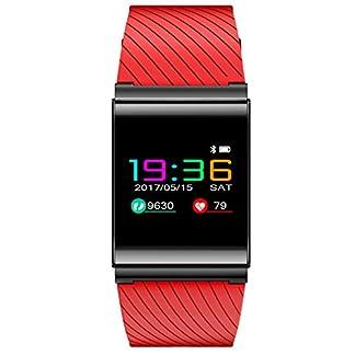 Loluka-Unisex-Fitness-Tracker-Digital-Quarz-Herzfrequenz-Blutdruck-Schrittzhler