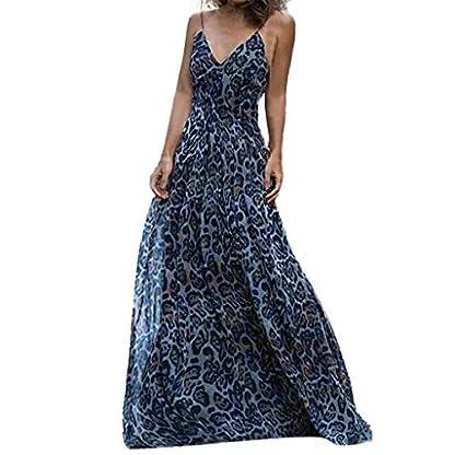 JYJM-019-Damen-Kleid-Leopard-Print-Hohe-Taille-V-Ausschnitt-Langes-Kleid-Damen-Casual-Langes-Shirt-Lose-Tunika-Kurzarm-T-Shirt-Kleid-24-FarbeXS-XXXXL32-50-Trendiges-Kleid-mit-Langen