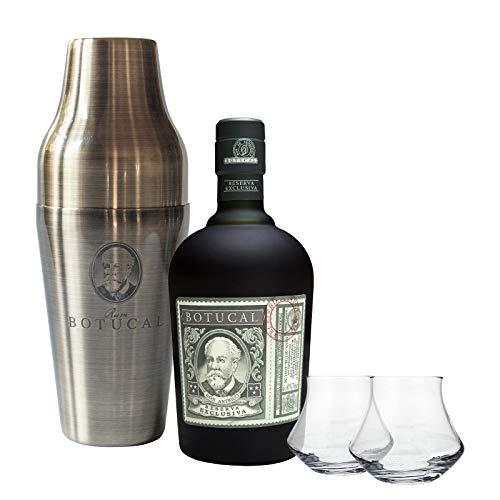 Geschenkeset-Botucal-Reserva-Exklusiva-Rum-40-vol-1-x-07-l-mit-Botucal-Cocktail-Shaker-und-2-Glser