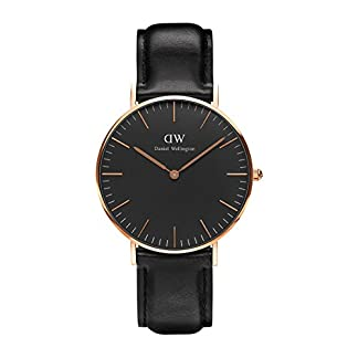 Daniel-Wellington-Classic-Damen-Armbanduhr-Analog-Quarz-Leder-DW00100139