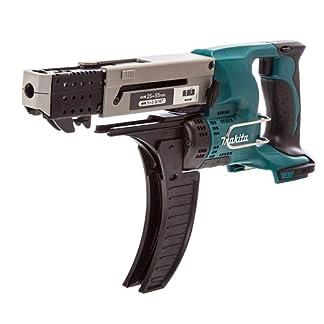 Makita-DFR550Z-Magazinschrauber-25-55mm-18-V-ohne-Akku-ohne-Ladegert-180-W-Schwarz-Grn