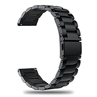 Gear-S3-FrontierClassic-Armband-Metall-TRUMiRR-22mm-Quick-Release-Uhrenarmband-Edelstahl-Metall-Ersatz-Band-fr-Samsung-Gear-S3-FrontierClassic-Xiaomi-Amazfit-Galaxy-Watch-46-mm