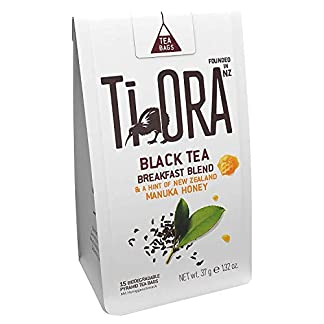 Ti-Ora-Black-Tea-Breakfast-Blend-New-Zealand-Manuka-Honig-Schwarzer-Tee-4er-Pack-4-x-15-Teebeutel