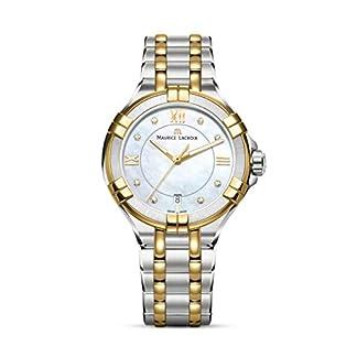 Maurice-Lacroix-Damen-Analog-Quarz-Uhr-mit-Edelstahl-Armband-AI1006-PVY13-171-1