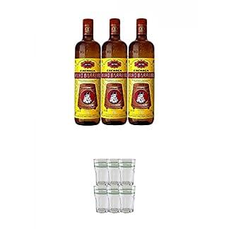 Velho-Barreiro-Silver-Cachaca-Originalabfllung-3-x-10-Liter-Velho-Barreiro-Caipirinha-Glas-6-Stck