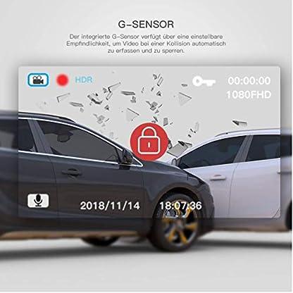 DashCam-Spiegel-Autokamera-Dual-Lens-966-Full-HD-1080P-Touchscreen-mit-170-Weitwinkel-mit-Nachtsicht-G-Sensor-Loop-Aufnahme-Parkberwachung-Bewegungserkennung