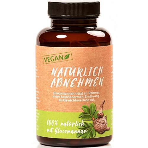 Valetudoo® Kapseln mit Glucomannan, hochdosiert, vegan, hergestellt in Deutschland