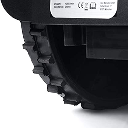 BRAST-Mhroboter-Rasenroboter-inkl-Verlegezubehr-fr-Grten-bis-1000qm-3-Mhzonen-Regensensor-Kollisionsensor-Neigunssensor-Aufladeautomatik-Akku-Rasenmher