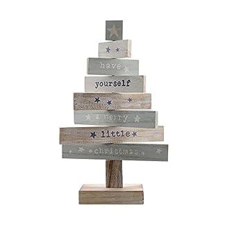 zeitzone-Weihnachtsbaum-A-Merry-Little-Christmas-Holzleiter-Tannenbaum-Holz-35cm