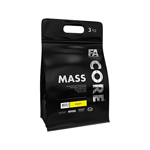 FA Nutrition Mass Core – 3kg – Schokolade mit Haselnüssen – Weight Gainer