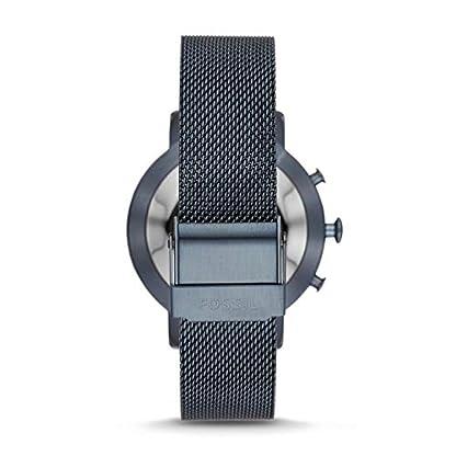 Fossil-Damen-Analog-Quarz-Smart-Watch-Armbanduhr-mit-Edelstahl-Armband-FTW5031