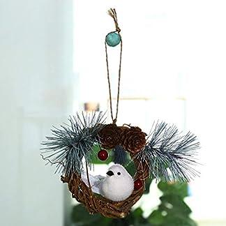 Weihnachtskranz-Rattan-Garland-hngende-Platte-Ornaments-Fenster-Tr-Dekor-Festliche-Dekoration
