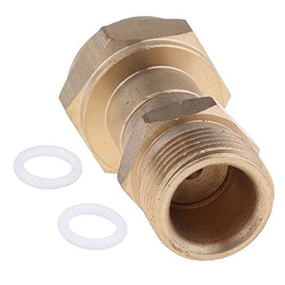 Homyl-Mnnlich-12-to-Weiblich-M22x15-Socket-Messing-Schnellkupplung-fr-Hochdruckreiniger
