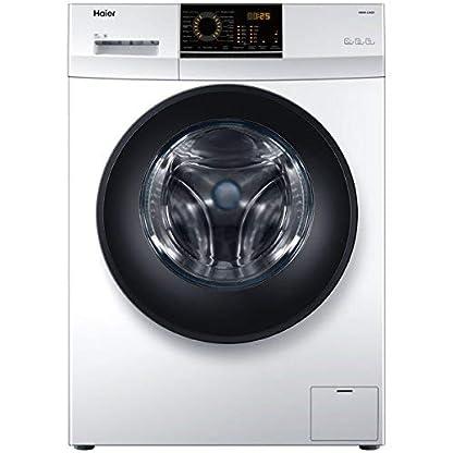 Haier-HW60–12829-autonome-Belastung-vor-6-kg-1200trmin-A-Graphit-Wei-Waschmaschine–Waschmaschinen-autonome-bevor-Belastung-graphit-wei-links-LED-Edelstahl