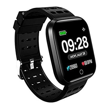 Smartwatch-Wasserdicht-Smart-Watch-Uhr-mit-Pulsmesser-Fitness-Tracker-Sport-Uhr-Fitness-Uhr-mit-SchrittzhlerSchlaf-MonitorStoppuhrCall-SMS-Benachrichtigung-Push-fr-Android-und-iOS