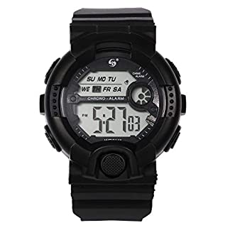 UINGKID-Collection-Unisex-Armbanduhr-Herren-Uhren-Ultra-Dnne-Multi-Funktions-10M-Wasserdichte-Uhr-Digital-Double-Action-Watch