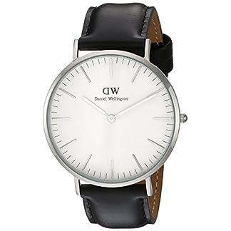 Daniel-Wellington-Classic-Herren-Armbanduhr-Analog-Quarz-Leder-DW00100020