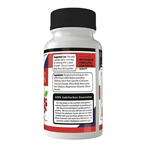 Physis Premium Pure Himbeer Ketonen – natürlicher Fettverbrenner