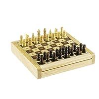 Reise-SchachChess-Holz-Steckspiel