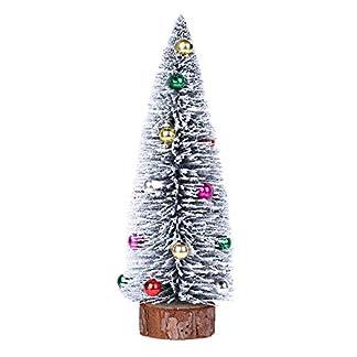 kingko-Mini-Weihnachtsbaum-Knstlicher-Weihnachtsbaum-Christbaum-Grn-Tannenbaum-knstliche-Tanne-Knstlicher-Weihnachtsbaum-Tannenbaum-Christbaum-Baum-Weiss-Schnee