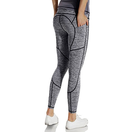 Persit Damen Sport Leggings, High Waist Sporthose Damen Sport Tights, Workout Yoga Leggins