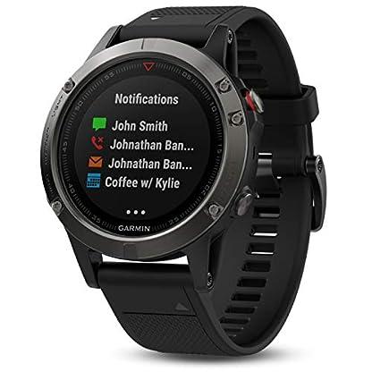 Garmin-fnix-5-GPS-Multisport-Smartwatch-Herren-Herzfrequenzmessung-am-Handgelenk-Sport-und-Navigationsfunktionen-grauschwarz