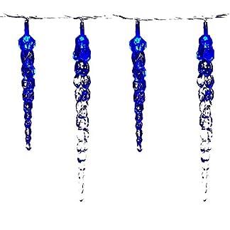 VOLTRONIC-40-LED-Lichterkette-Eiszapfen-fr-innen-und-auen-Farbwahl-kalt-weiblau-GS-geprft-IP44-optional-mit-8-LeuchtmodiFernbedienungTimer-Lnge-55m-5m-Zuleitung