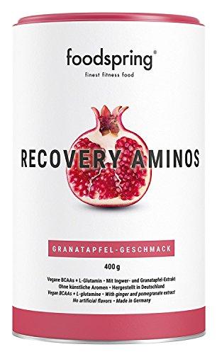 foodspring Recovery Aminos, 400g, Cleane Post-Workout Recovery ohne künstliche Aromen, Hergestellt in zertifizierten Produktionen in Deutschland
