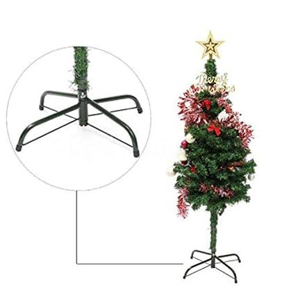 Weryffe-Weihnachtsbaumstnder-Kreative-Metall-Baum-Halter-Basis-Gusseisenstnder-4-Fe-Party-Decor-Wohnaccessoires-Schwarz