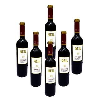 6-Flaschen-Dornfelder-Rotwein-2017-lieblichs-Oekonomierat-Johann-Geil-Erben-Reihnhessen-Deutscher-Wein
