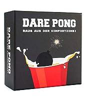 Dare-Pong-Beer-Pong-trifft-auf-Wahrheit-oder-Pflicht-Trinkspiel-Neuheit-2019-Ideal-fr-Parties-Vorglhen-Festivals-oder-als-Geschenk